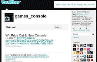 GAMES CONSOLE on Twitter