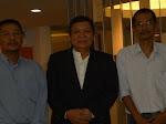 Nik Aziz, Ajib dan Dato Jamalullai (Pakar Ekonomi ) di Office kita