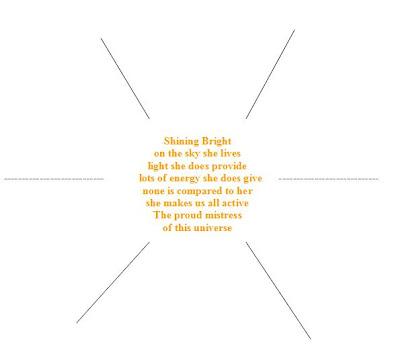 shape poems for children. shape poems for kids. shape