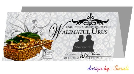 ... several design and hope it can inspire you klo nak design wedding card