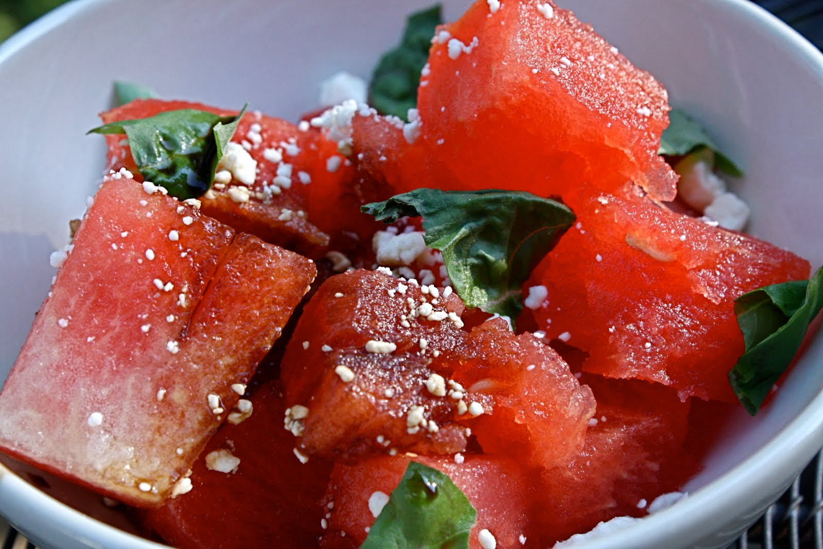 watermelon salad watermelon and aleppo salad make this melon salad ...