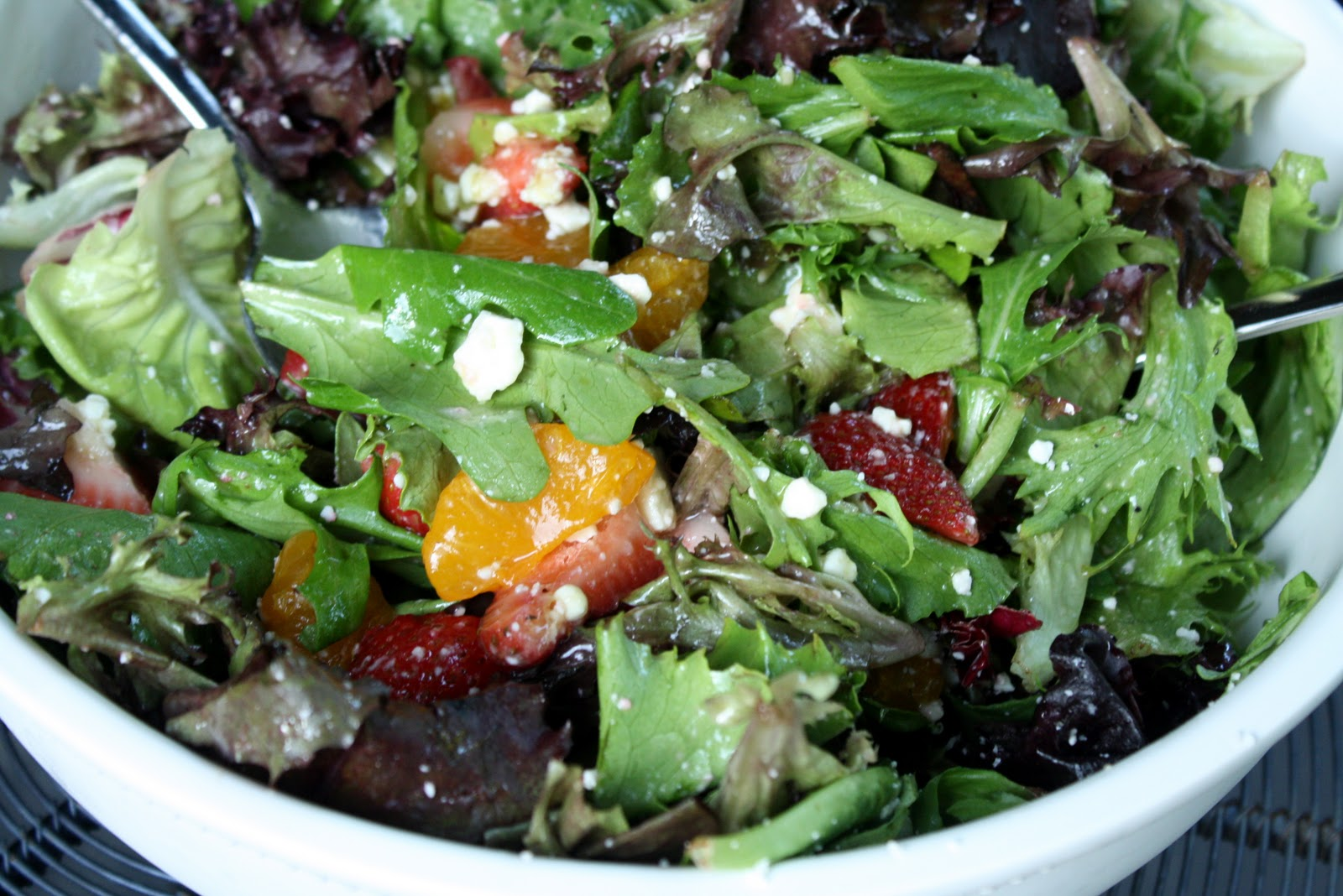 love dinner salads. There are endless varieties with endless ...