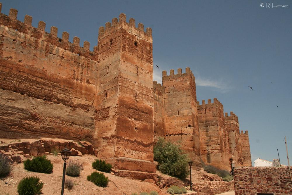 De norte a sur castillo de burgalimar ba os de la encina ja n - Castillo de banos de la encina ...