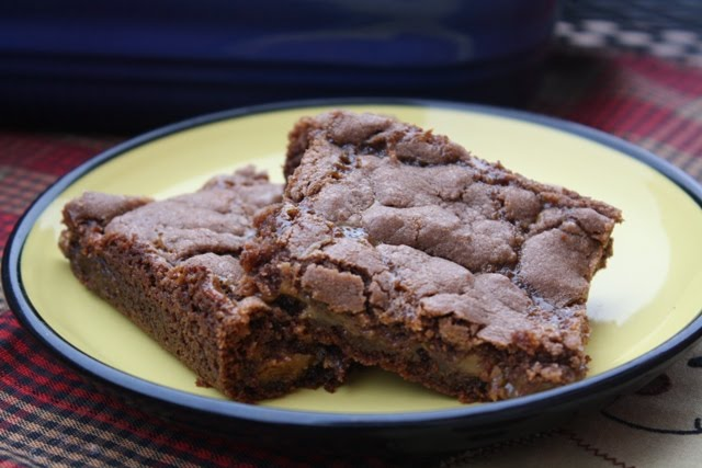 ... Home Cooking & Family Friendly Recipes: Knock Ya Naked Brownie Bars