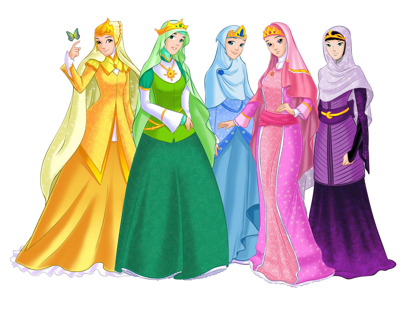 Character Design Princesses od Velicia