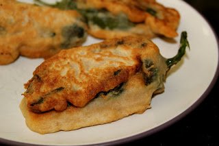 Chile Rellenos with Cashew Cheese