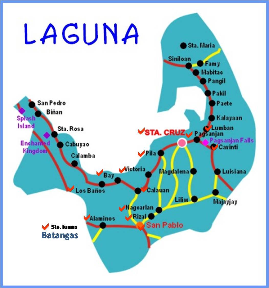 Santa Cruz (Laguna) Philippines  city photos gallery : Map of Sta Cruz Laguna http://running.journeyingjames.com/2010/05 ...