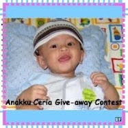 Anakku Ceria Give-away Contest(saguhati)