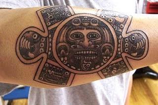 Gallery Aztec Tattoo Designs arm