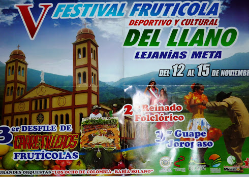 FESTIVAL FRUTICOLA LEJANIAS