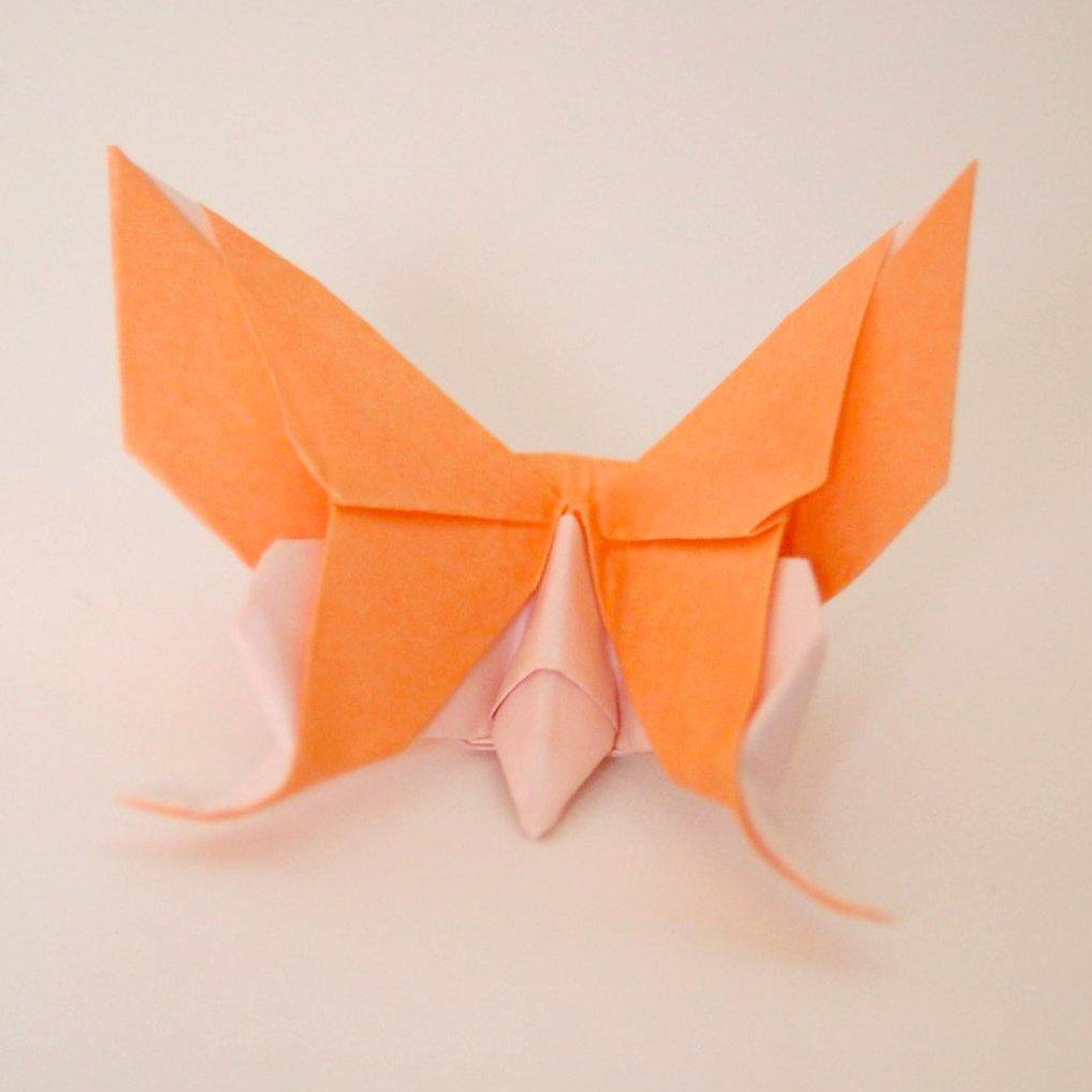 Easy Origami Butterfly Pattern