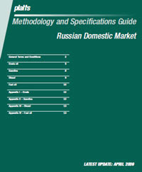 Platts - Methodology and Specifications Guide Russian Domestic Market