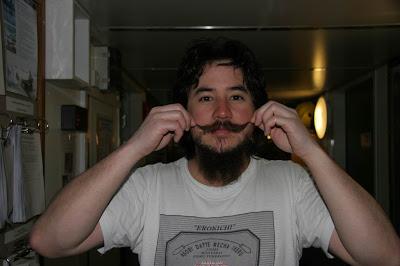 Me and my beard and tash