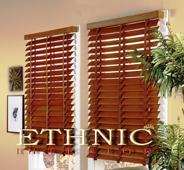 WOODEN BLINDS / TIRAI KAYU