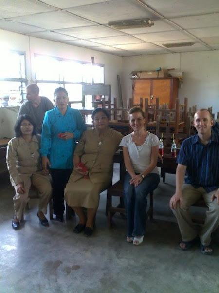 Keakraban Guru dan Mahasiswi dan Mahasiswa AS Kunjungan Pendidikan Pustaha Batak