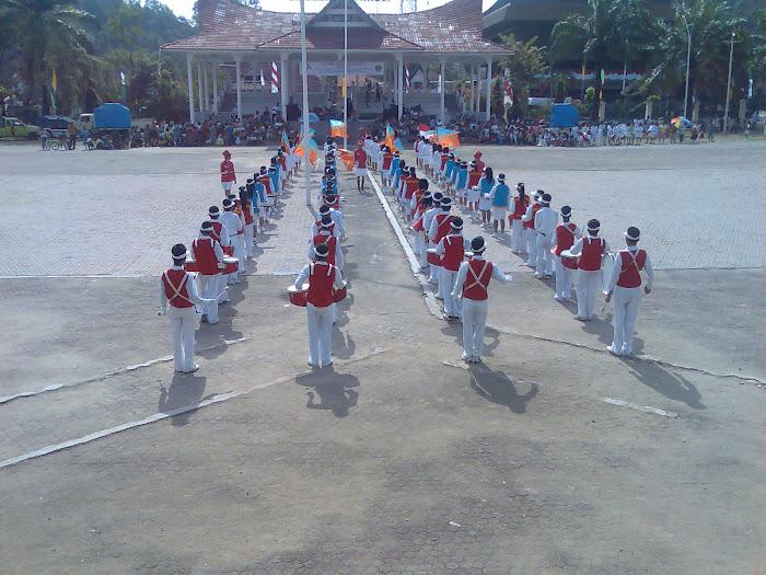 KOMPETISI MARCHING B4ND SMP NEGERI 1 SIBOLGA