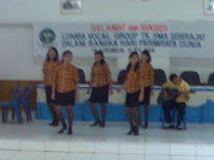 Kompetisi Vocal Grub TK. SMA Sederajat dalam rangka Hari Pariwisata Dunia
