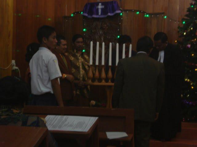 Perayaan Natal SMP Negeri Sibolga