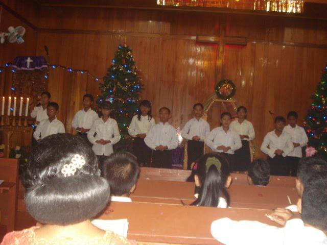 LITURGI SISWA - SISWI SMP N 1 SIBOLGA di Saat Perayaan Natal