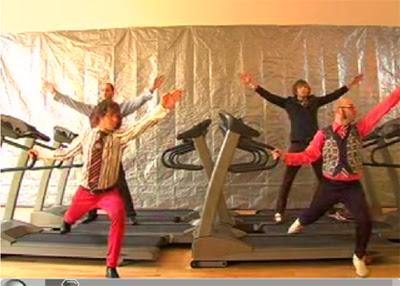 aerobic music video