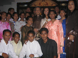 All of us with Tun Mahathir and Datin Paduka Marina mahathir