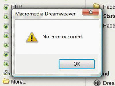 how to make a windows 7 error message