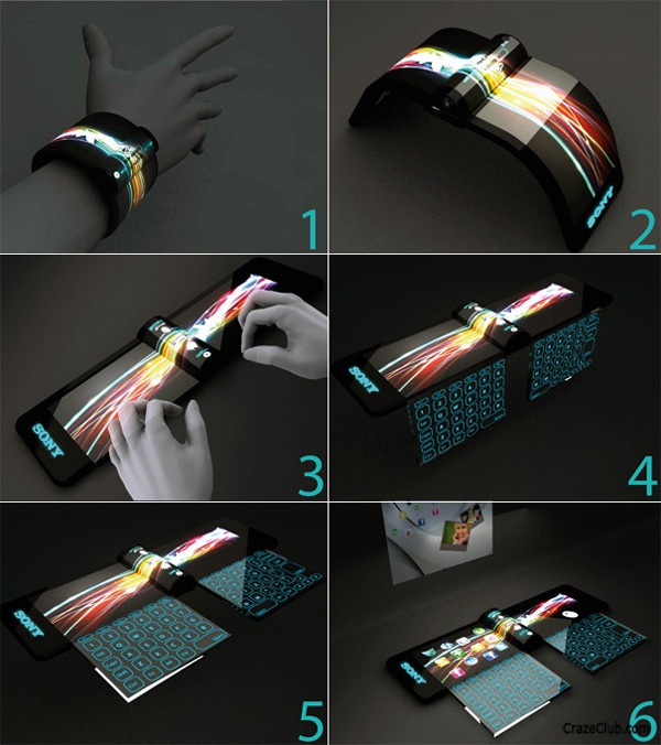 Sony's Futuristic Concept of Computers by Hiromi Kiriki