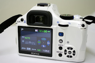 pentax k-x user settings