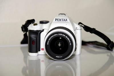 pentax k-x white