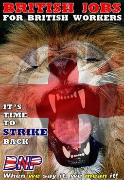 british jobs lion colour Alex Newell