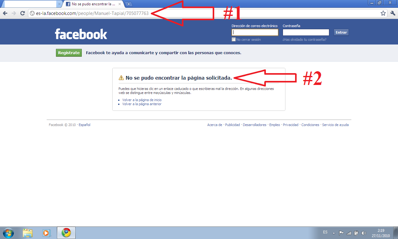 Disabled facebook account?