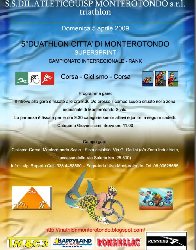 Duathlon 5 Aprile Monterotondo