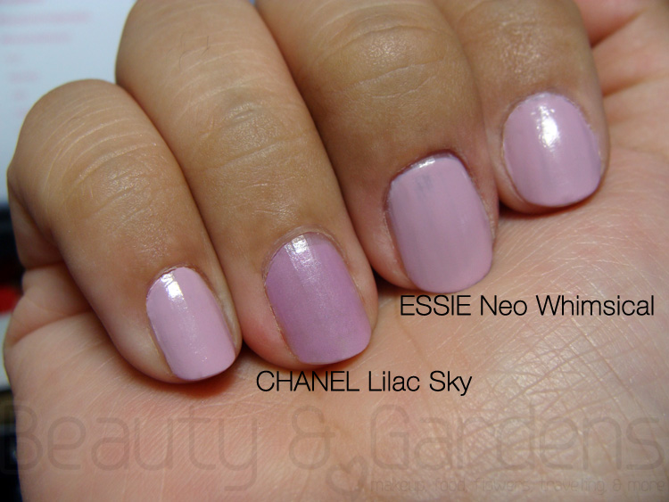 Beauty and Gardens: Lilac Nails: Essie or Chanel?