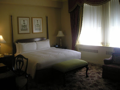 Guest Room review in Waldorf Astoria Hotel in New York