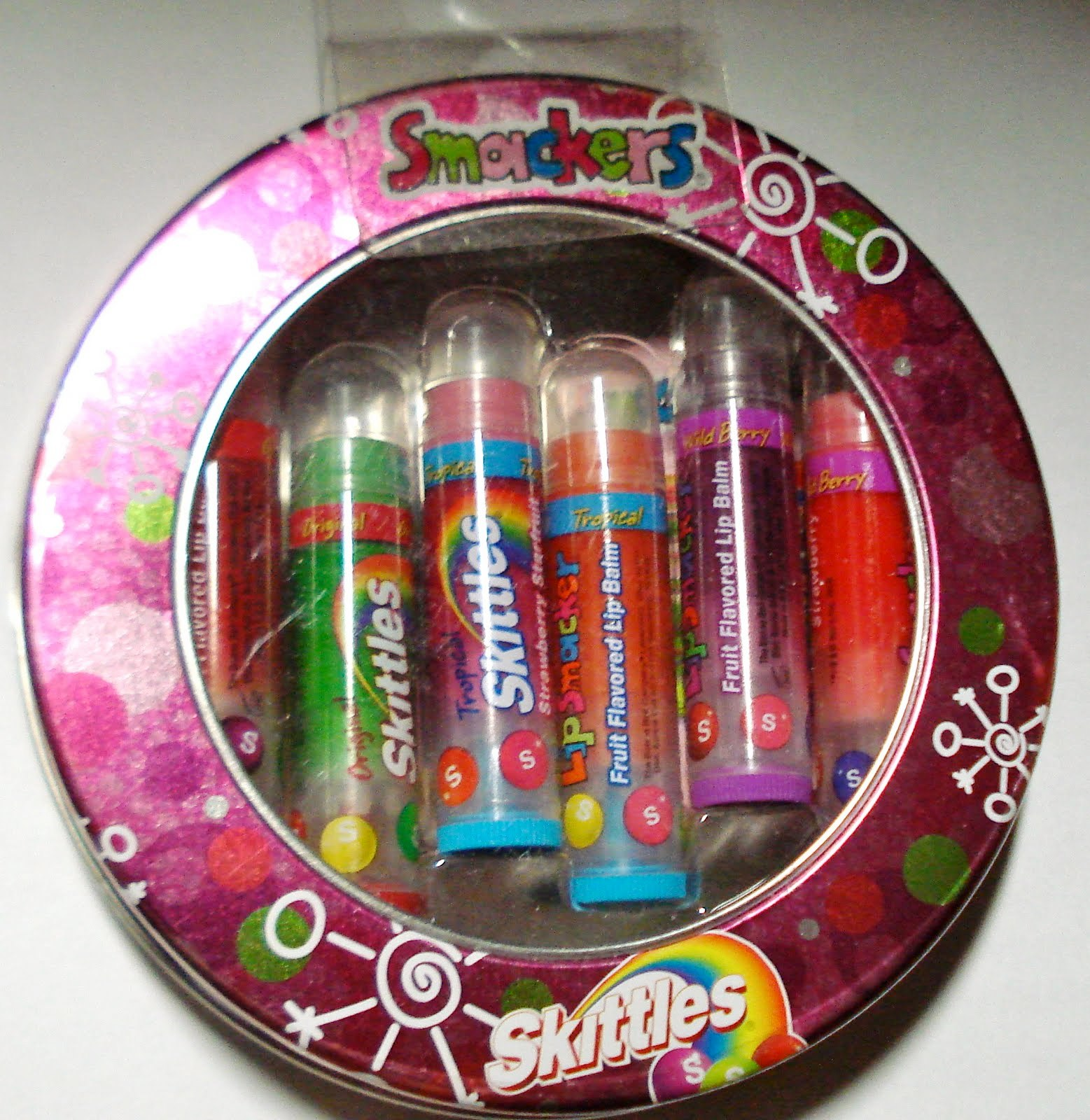 Cutiesandsweeties Lip Smackers Skittles Party Pack Of 6