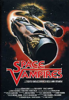 Space Vampires (Lifeforce, 1985), locandina