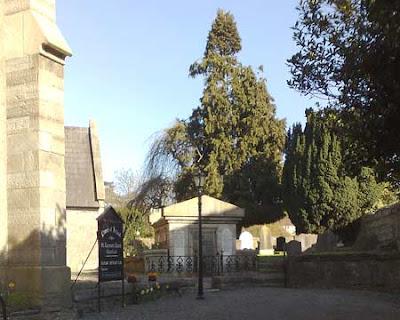 Il cimitero di Chapelizod, foto
