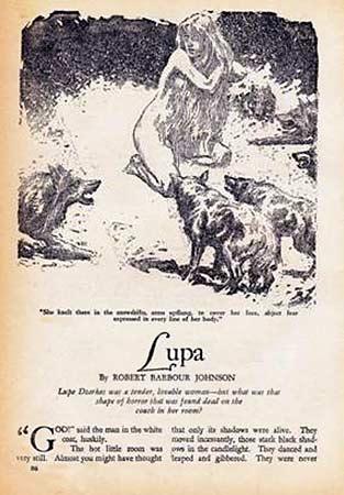 Lupa, Robert Barbour Johnson - Lande Incantate