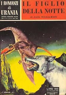 Il figlio della notte, 1952, copertina