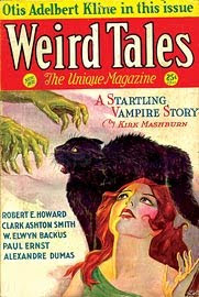 Weird Tales, novembre 1931, copertina