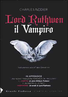 Lord Ruthwen il vampiro, 2010, copertina