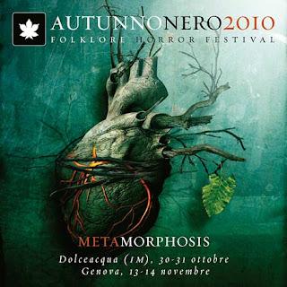 Metamorphosis, Autunnonero 2010, locandina