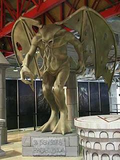 statua di Cthulhu, Expocomic 2010, foto