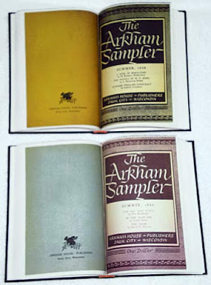 The Arkham Sampler (1948-1949), 2010, copertine