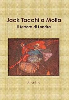 Jack Tacchi a Molla: il Terrore di Londra, 2010, copertina