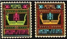 FANTASY STAMPS: commemorating Atlantean Textile Design
