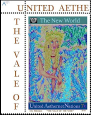 AETHERNET STAMPS: Artist Stamps From Fairy Nations in Cyberspace
