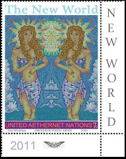 ARTISTAMPS for the New World: Visionary Metaphysical Art