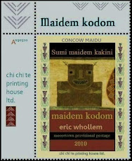 CONCOW MAIDU LORE: Faux postage stamps from Maidem Kodom