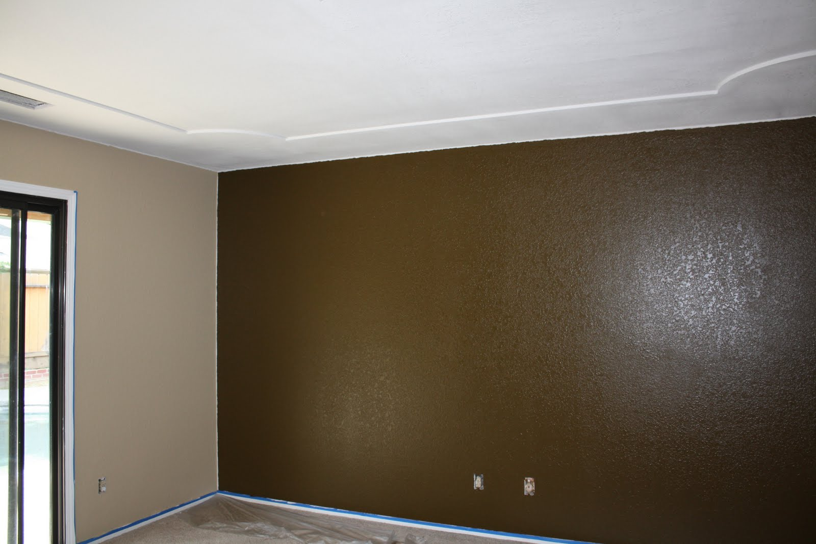 We 39 ve been busy Dark brown walls bedroom
